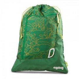 Ergobag sportovní pytel zelený
