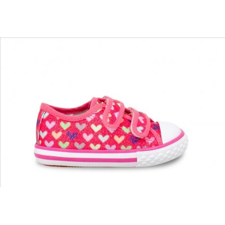 Canvas PINK HEARTS 4795