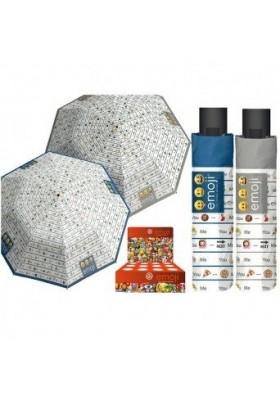 Deštník EMOJI modrý